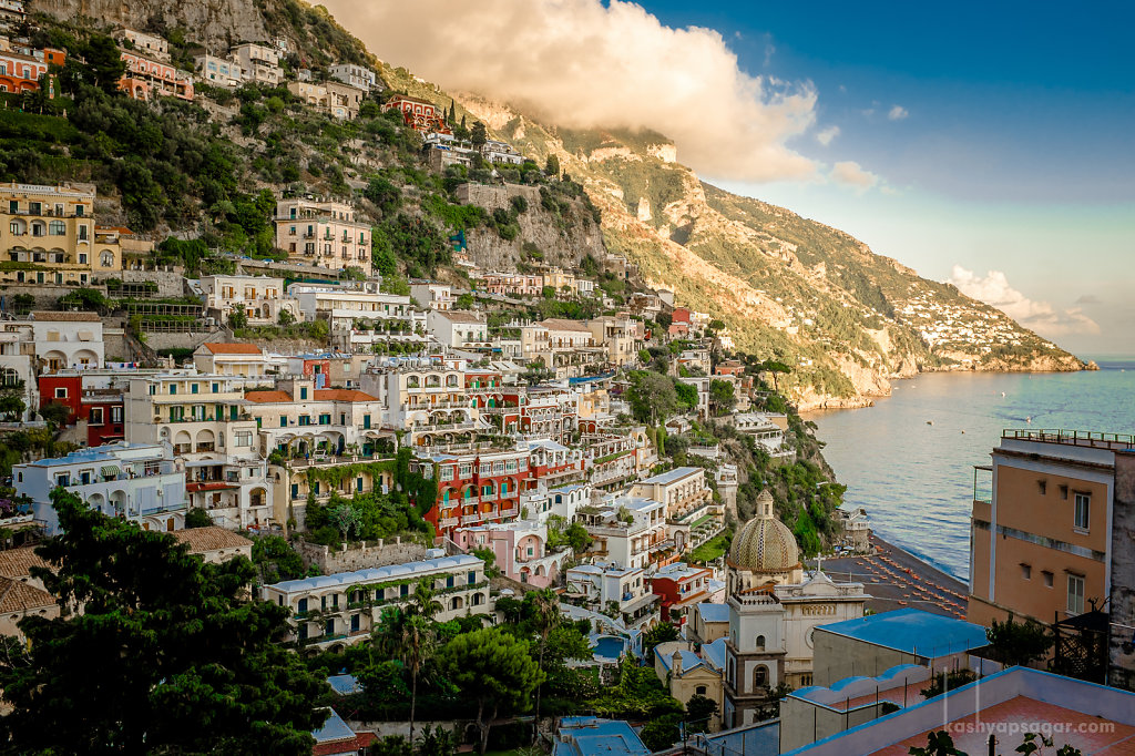 Positano. Sceneries that dreams are made in.