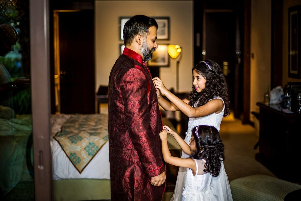Hatim Pascale Wedding in Dubai Address Downtown Hotel