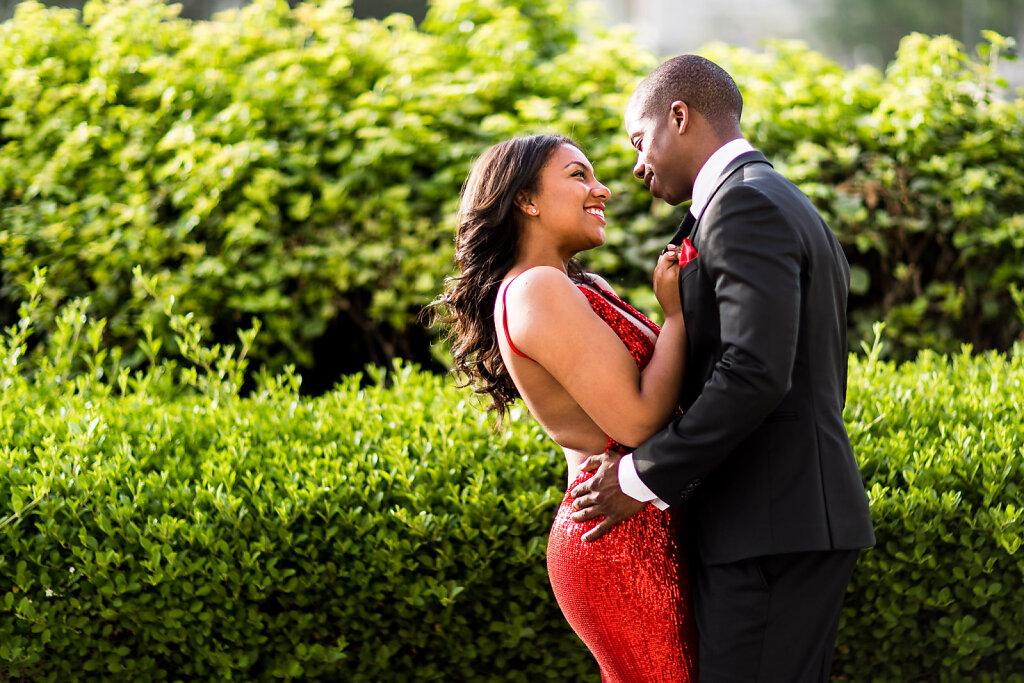 Engaged Couple in Love photoshoot