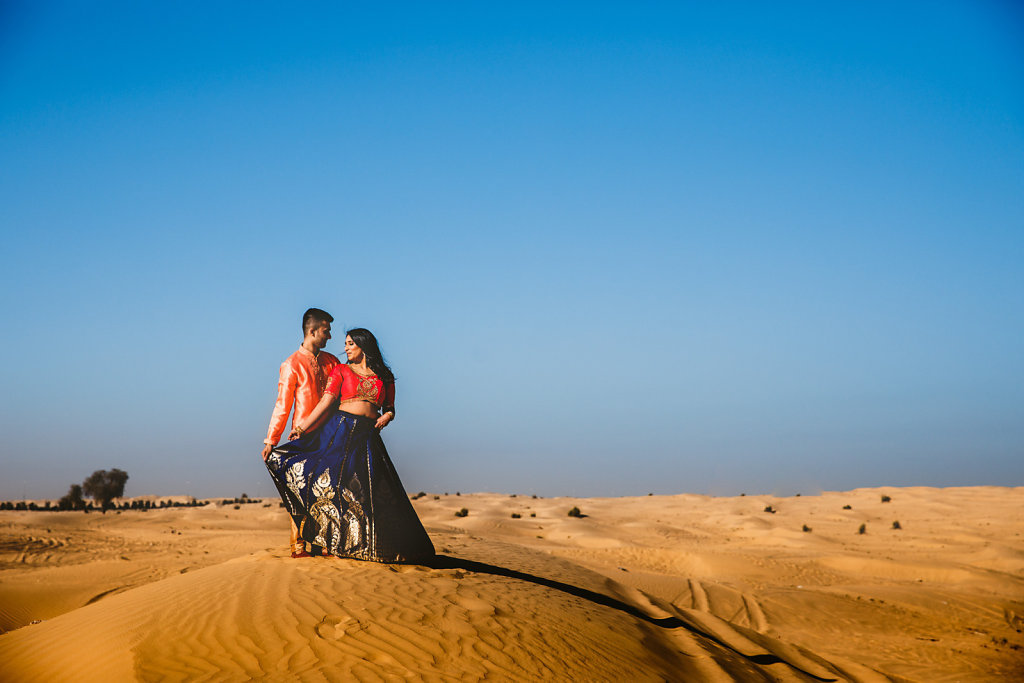 Dubai Desert PreWedding Photoshoot