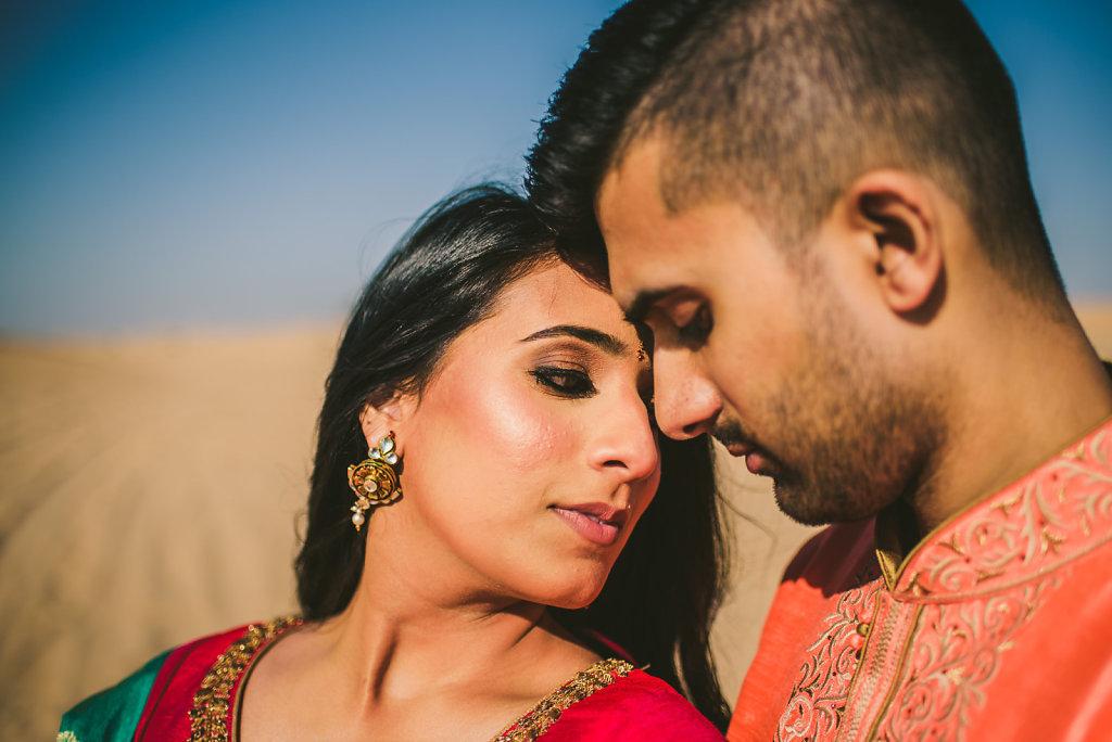 Dubai Desert PreWedding Photoshoot